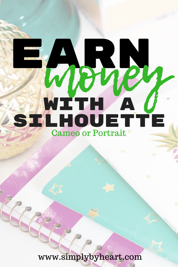 earn money with silhouette