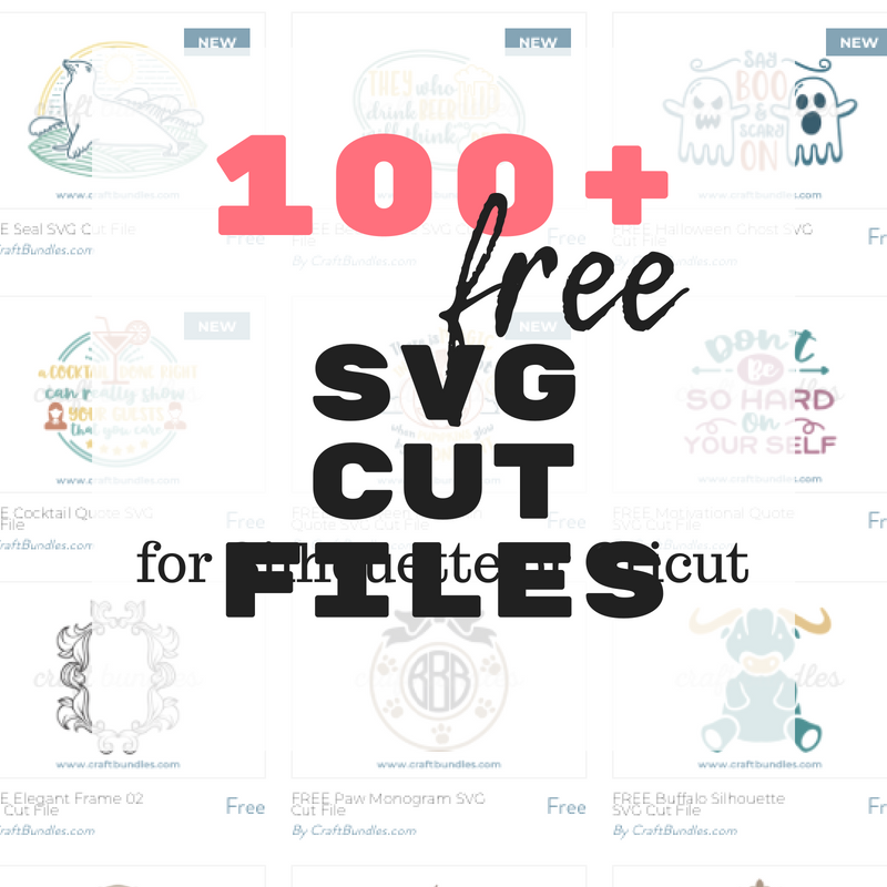 free svg cut files for silhouette or cricut