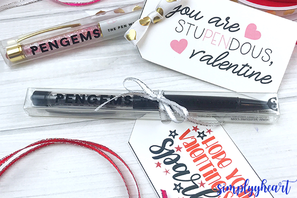last minute valentine's day gift tags for teachers